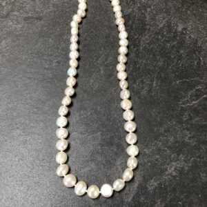 Perlenkette classic knoten