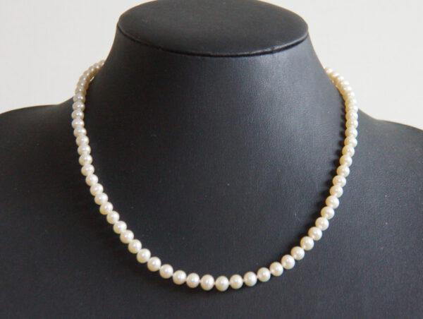 Kette, Classic, Perlenkette, klassische Perlenkette