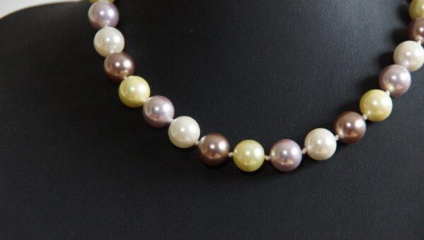 Perlenkette, Perle, längliche Perlen, Hell Weihnachtsgeschenk, Kette ,Schmuck